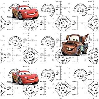 AG Design Disney Cars, Vlies-Tapete, 0,53x10,05 m-1 Rolle, Multicolor, 0,1 x 53 x 10, cm