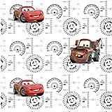 AG Design WPD 9730 Disney Cars, Vlies-Tapete, 0,53x10,05 M - 1 Rolle, Vlies, Multicolor, 0,1 x 53 x 10,05 cm