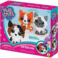 Orb Factory 74661 Plush Craft Kitten Club Fabric Fun Kit, Multi-Colour