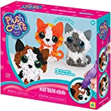 Orb Factory 74661 Plush Craft Kitten Club Fabric Fun Kit, Multi-Colour, Pack of 3