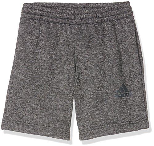 Adidas-Pantaloncini da ragazzo Urban Football, Ragazzo, Urban Football Shorts, Dgh Solid Grey/Night Met. F13, 164