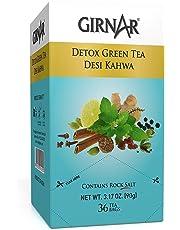 Girnar Green Tea, Desi Kahwa, 36 Tea Bags