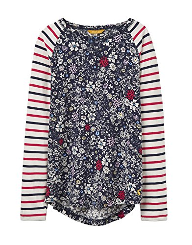 Joules Junior Print Mix Top - Französische Marine Ria Ditsy - 5 years - 110 cm (Print Top Ditsy)