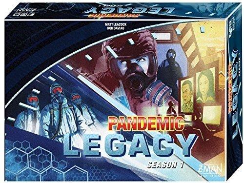Z-Man Games ZMG71170-B - Pandemic Legacy - 1 Saison, blau (Zman Games)