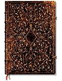 Grolier Ornamentali - Notizbuch Grande Flexi Unliniert - Paperblanks