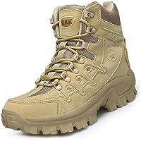 IYVW Stivali da Combattimento Militari da Uomo Arrampicata Traspirante Scarpe da Trekking Stivaletti da Allenamento dell…