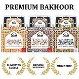 Dukhni Oudh Bakhoor Incense Set of 3 (Aini, Khaleeji & Ibtisam) 9 pcs Each