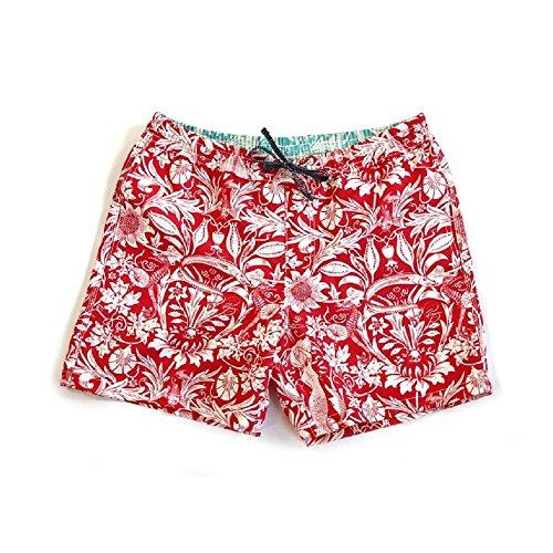 Riz Boardshorts | Badeshorts | Die Trendige Badehose aus RECYCELTEN Plastikflaschen | Surfer-Shorts | Statement-Badeshorts (XL)