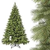 FairyTrees Abete Reale Premium, albero di Natale da 180 cm, 220 cm e 250 cm