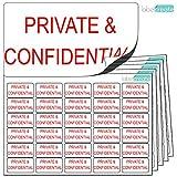 480x Private und vertraulich Aufkleber (38x 21mm) sauber, klar & gleichmäßige. Hohe Qualität Selbstklebende Etiketten. KOSTENLOSE First Class UK Lieferung.