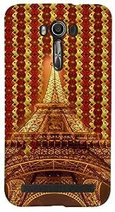PrintVisa 3D-ASZFGO-D8111 Travel Paris Eifel Case Cover for Asus Zenfone Go ZC500TG