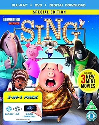 Sing [Blu-ray] [2017]