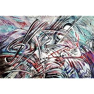 Gemälde Abstrakt Karton Wohnzimmer Bilder Wand Bilder Bilder Büro Bild groß Gemälde Kunst Wanddekoration Graphik Karton Handmade Bilder Exclusiv Bild A4 Original Geschenk Weihnachtsgeschenk Unikat