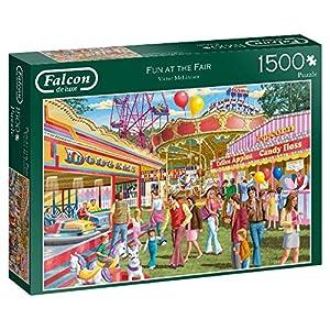 Falcon de Luxe Fun at The Fair 1500 pcs Puzzle - Rompecabezas (Puzzle Rompecabezas, Gente, Niños y Adultos, Niño/niña, 12 año(s), Interior)