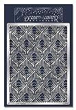 Unbekannt Stampendous Dreamweaver Metall Schablone 7.75-inch X 12,7cm Pfau Hintergrund, Acryl, mehrfarbig