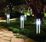 LED LOVER VLT. LL. 0103.001. XX San Diego Garten Licht Set, silber, 26x 7x 28cm