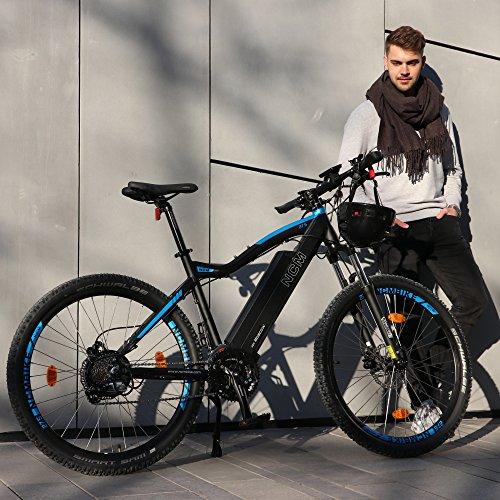 ncm moscow e bike mountainbike 250w 48v 13ah 624wh akku. Black Bedroom Furniture Sets. Home Design Ideas