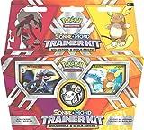 Nach dem großen Erfolg der bisherigen Trainer Kits folgt jetzt der Nachfolger dieses Einsteigerprodukts, mit Charaskteren aus den aktuellen Pokemon-Videospielhit Pokemon Sonne und Pokemon Mond. Das Sonne und Mond Trainer Kit enthält alles, was zwe...