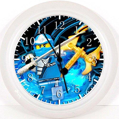 LEGO Ninja Ninjago Wanduhr 25,4cm Will Be Nice Gift und Raum Wand Decor,