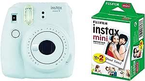 Fujifilm Instax Mini 9 Kamera Eis Blau Mit Film Kamera