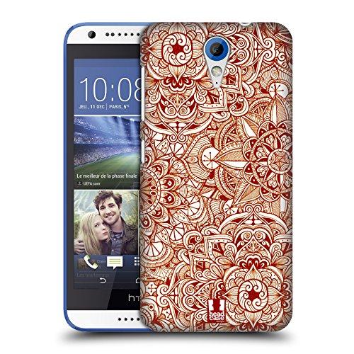 Head Case Designs Muster Mandala Doodle Ruckseite Hülle für HTC Desire 620/620 Dual SIM