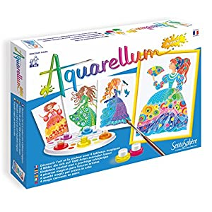 Sentosphere - Aquarellum Junior Princesas de la Flores, Juego Creativo (075696)
