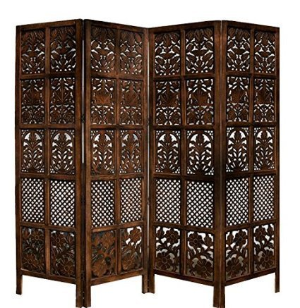 jk handicrafts Wooden Partition / Room Divider/Screen