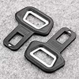 #3: Jadebin Universal Black Metal Seat Belt Alarm Stopper Buckle Cum Bottle Opener