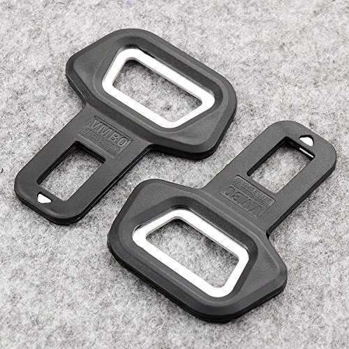 Everycom Bottle Opener Mounted Car seat belt buckle Adjustable Clip Extender Alarm Stopper  available at amazon for Rs.76