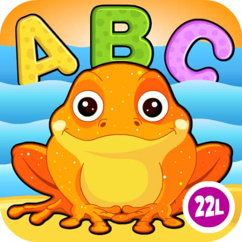 Preschool and Kindergarten Reading, Tracing & Spelling School Adventure: First Words - Animals A to Z (Letters Recognition, Phonics, Alphabet Learning Game) for Kids (Kindergarten, Toddler, Preschool, Grade 1) Educational Toy by Abby