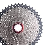 Verhältnis Fahrrad Kassette 10 Fach Breite Ritzel 11-42T