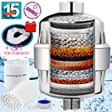 Shower Filter 15 Stage Shower Filter to Remove Chlorine Fluoride Lead - 2