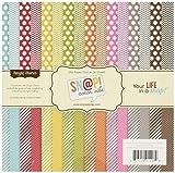 Sn@p! colore Vibe raccolta carta Pad 6'X 6' 36 fogli -