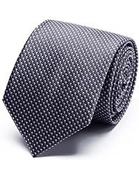 XIANGUO Cravate pour homme motif de tissage cravate classique mode