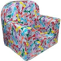 Little Tiger Sessel Sofa Sitz Hocker für Kinder Kleinkind Kinder Sofa Sitz Mini Sessel für Kinder–Dekoration, Multi Fly, XX-Small preisvergleich bei kinderzimmerdekopreise.eu