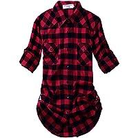 Matchstick Damen Flanell Kariert Shirt #B003