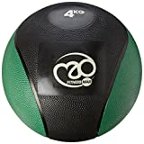 Fitness Mad PVC Medicine Ball, Palla Medica Unisex – Adulto, Black, 4 kg