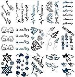 pengweiTattoo Aufkleber M?nner und Frauen wasserdicht dauerhafte Tattoo Tattoo Aufkleber