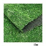 WENZHE Prato Sintetico Tappeti Erba Sintetica Tappeto Verde Erba Artificiale Simulazione Custodia di Ingegneria Greening, Stile A/B, più Dimensioni (Colore : B, Dimensioni : 2x13m)