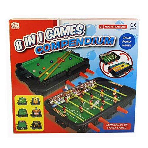 A bis Z 083978in 1Kompendium Spiele (Mini-hockey-tisch)