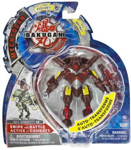 Sky Sprint (Red) : Mechtogan Bakugan Mechtanium Surge -