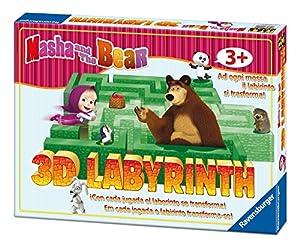 Ravensburger 21180 Niños Party Board Game - Juego de Tablero (Party Board Game, Niños, 3 año(s), 7 año(s), Caja de cartón, Masha e Orso)