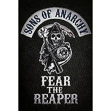 De hijos de la Anarquía Fear The Reaper Póster, madera, multicolor