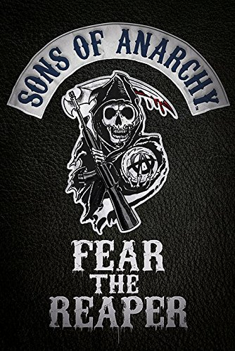 Fear the Sons of Anarchy reaper-Maxi Poster, in legno, colore: multicolore