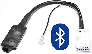 Bluetooth Audio Interface für 12pin Quadlock VW: RCD-200/210/300/310/500, RNS-300/310, MFD2 CD/DVD - - - - SKODA: Beat, Cruise, Dance, Melody, Stream, Nexus, Swing - - - - AUDI: Chorus 2+/3, Concert 2+/3, Symphony 2+/3, Navigation Plus 3, RNS-E, BNS 5.0