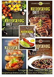 Ketogenic Diet Cookbook: Volumes 1-5: Ketogenic Recipes Breakfast, Lunch, Dinner, Snacks, Dessert And Slow Cooker Recipes by Charity Wilson (2015-04-21)
