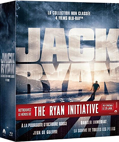 Coffret jack ryan [Blu-ray] [FR Import]