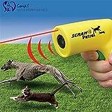 GenericM, Green : Ultrasonic Dog Repeller Outdoor Scram Patrol SNC Animal Chaser Repellents