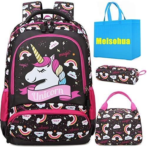 Mochila Unicornio Niños Impermeable Mochila