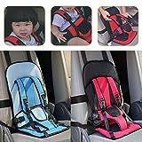 #3: Vmoni Multi-Function Adjustable Portable Car Cushion Seat With Safety Belt